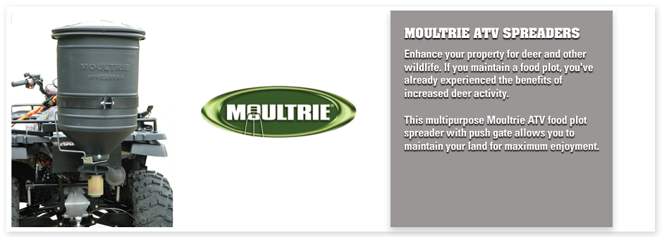 The Co Op Moultrie Atv Spreaders