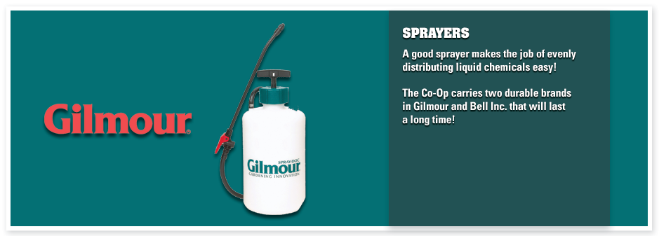 The Co-Op | Lawn and Garden, Sprayers
